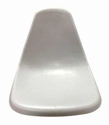 MARINE BUCKET MOLDED BOAT SEAT FISHING TRACTOR 75139 WHITE one piece
